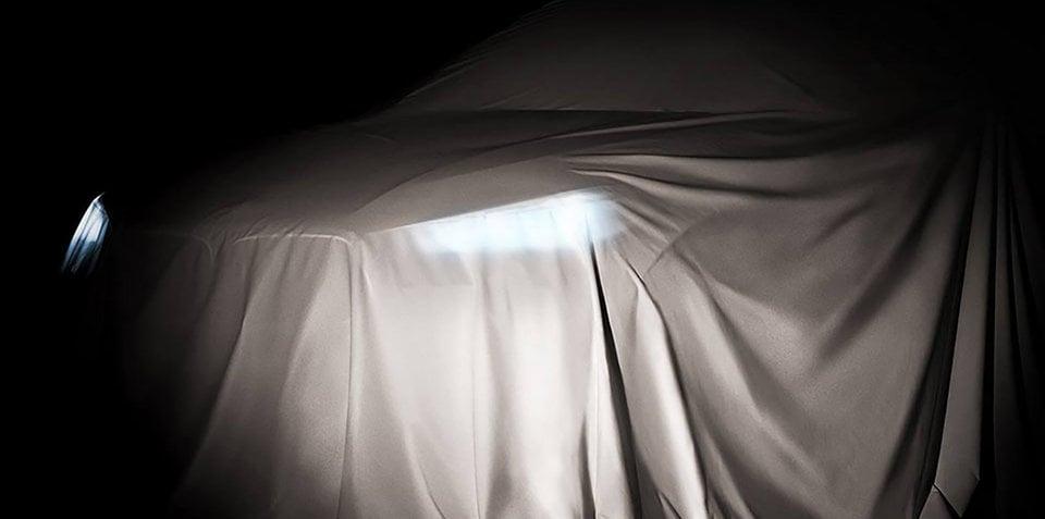 2017 BMW X2 teased ahead of Paris debut