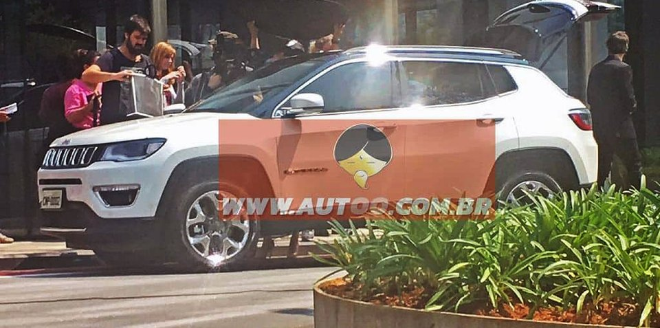 2017 Jeep Compass revealed during official photo shoot