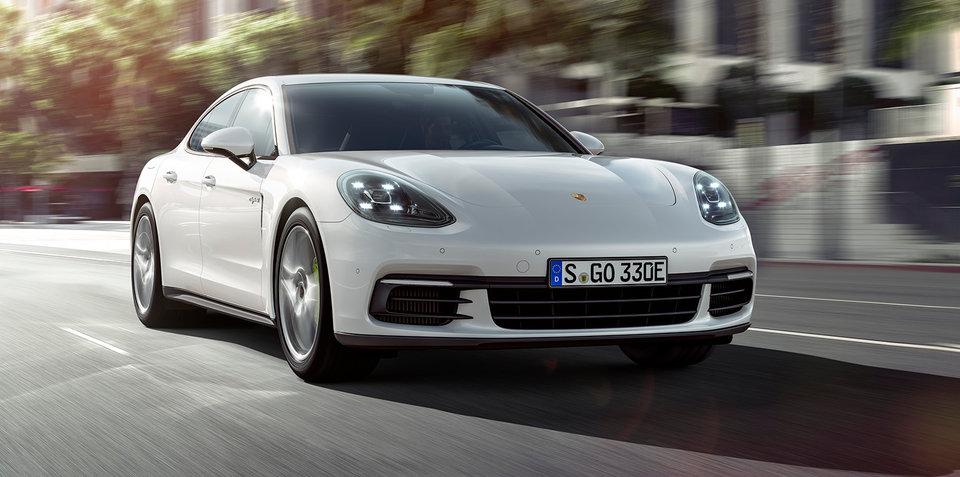 2017 Porsche Panamera E-Hybrid unveiled, Australian order books open