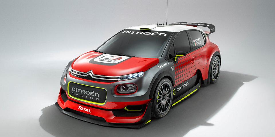 2017 Citroen C3 WRC Concept revealed