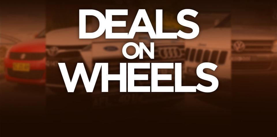Weekend Deals on Wheels for September 17