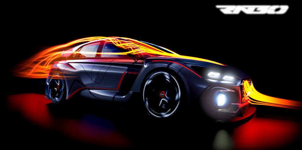 Hyundai N Concept RN30:: motorsport flavoured car teased ahead of Paris debut