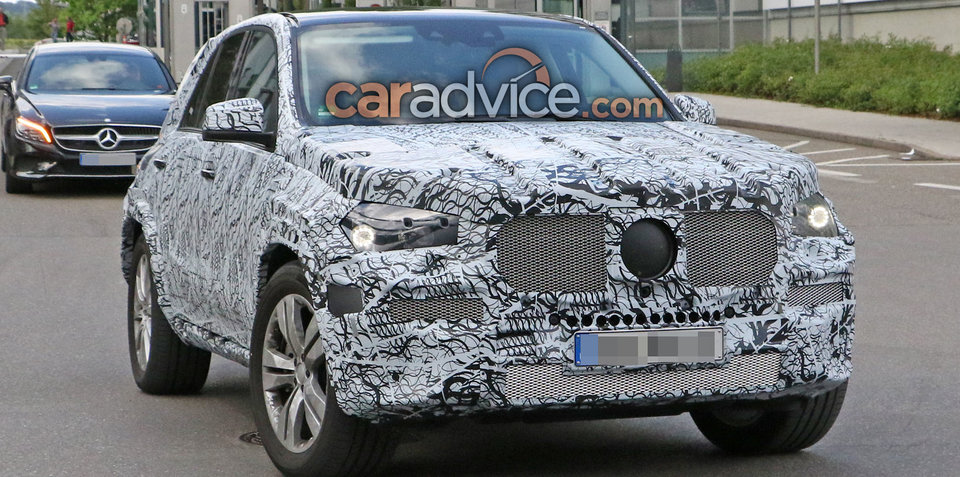 2018 Mercedes-Benz GLE spied again