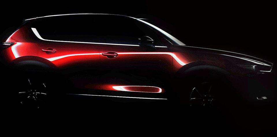 2017 Mazda CX-5 teased ahead of LA reveal