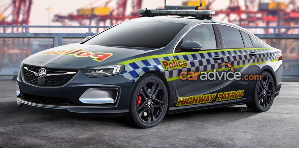 Insignia Vxr 2018 >> 2018 Holden Commodore to be police ready