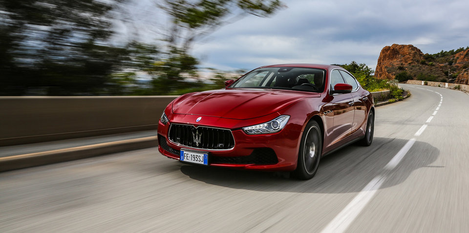 maserati ghibli pricing and specs: more power and even more kit