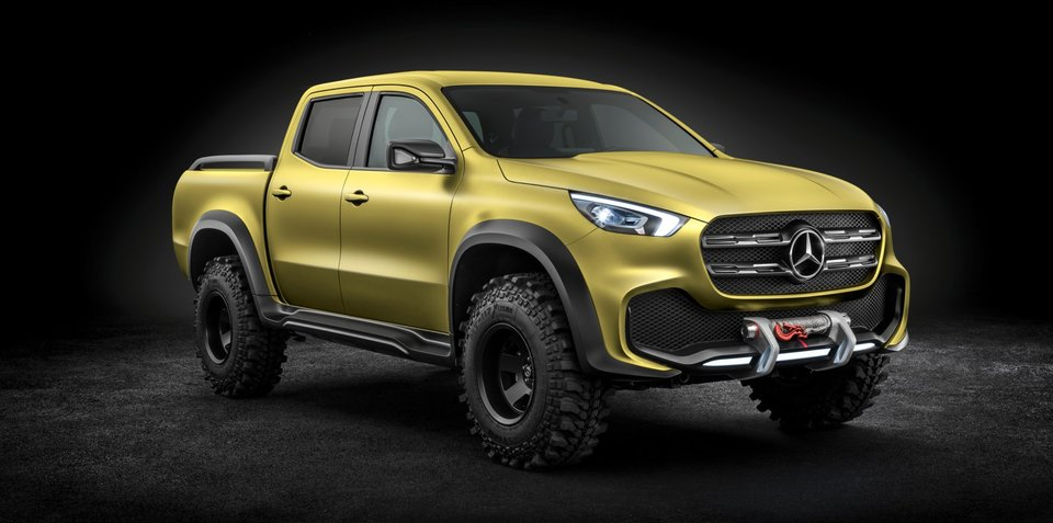 Mercedes-Benz X-Class ute engine details revealed