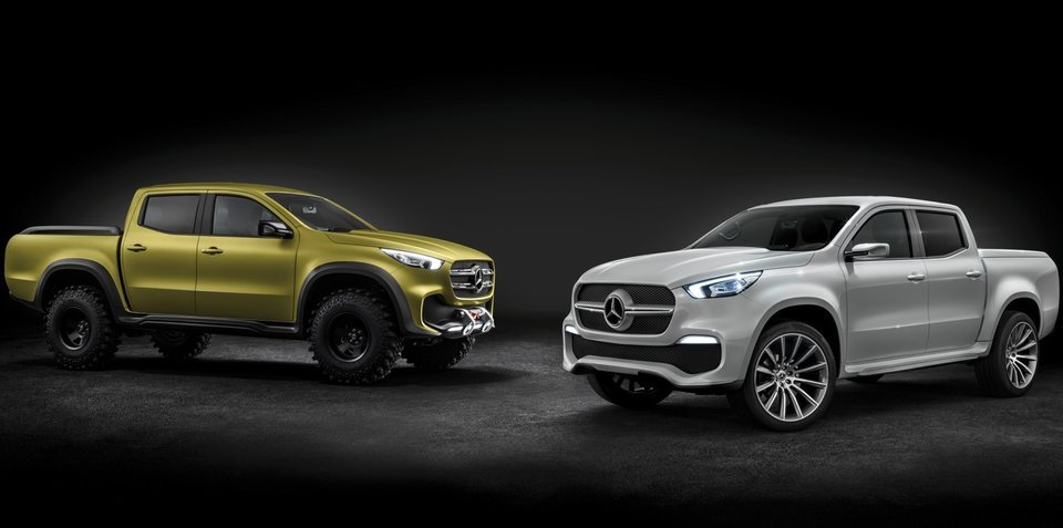 Mercedes-Benz X-Class pick-up concept revealed