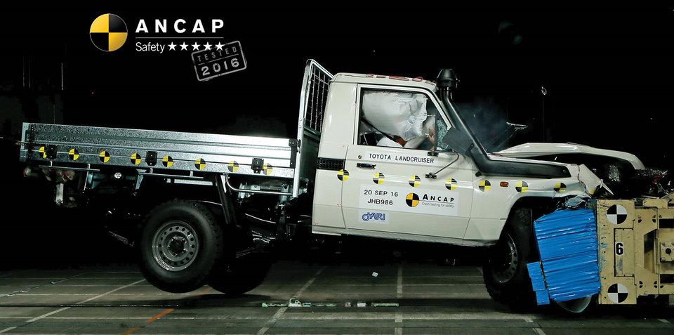 Toyota Landcruiser 70 Series, Prius awarded five-star ANCAP ratings