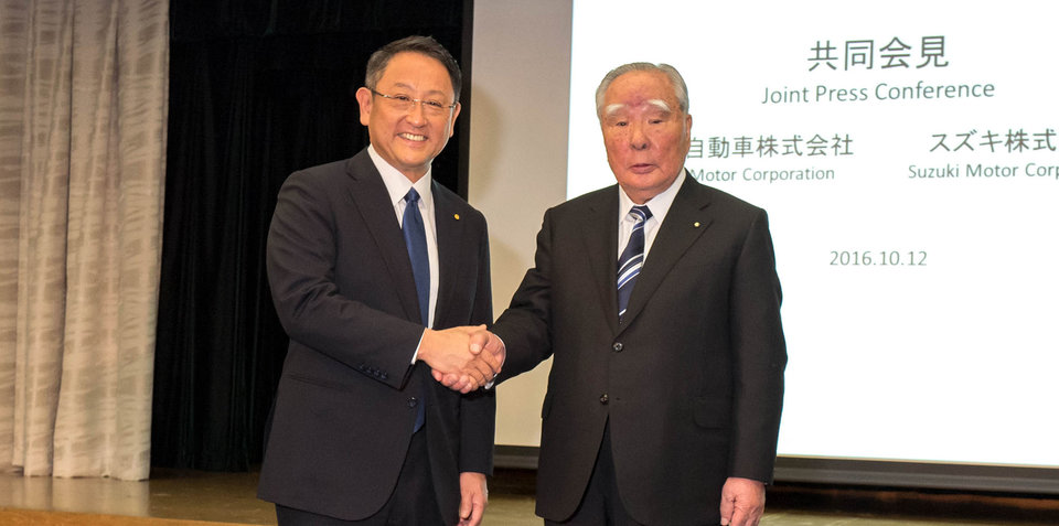 Toyota and Suzuki to formalise technology partnership