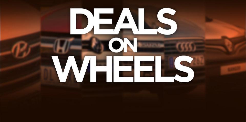Weekend Deals on Wheels for October 15