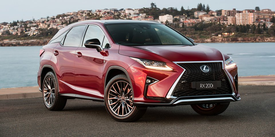 Lexus Hybrid Suv >> 2017 Lexus RX200t adds F Sport and Sports Luxury variants, prices up across RX range