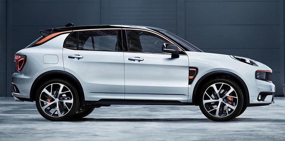 "Lynk & Co 01 revealed: New Chinese SUV ""the most connected car to date"""