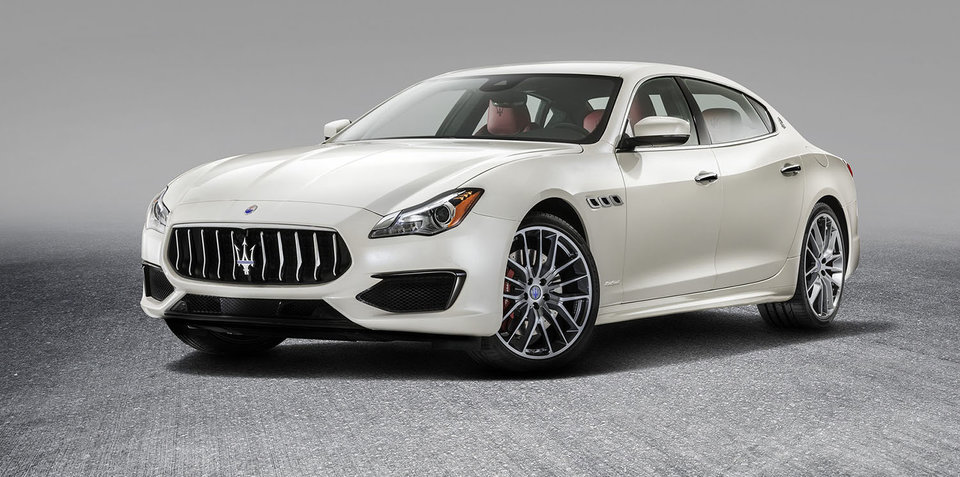 2017 Maserati Quattroporte pricing and specs: Tweaked looks and more kit for primo Italian sedan