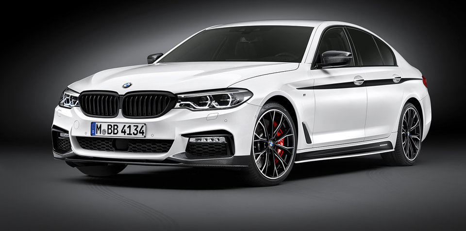 2017 BMW 5 Series M Performance accessories revealed - UPDATE