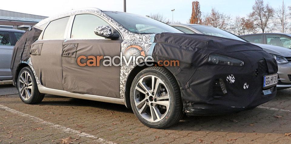 2017 Hyundai i30 Tourer wagon spied in Germany