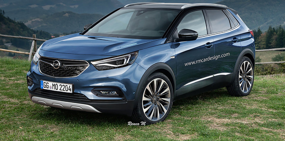 Tucson Dimensions 2017 >> 2017 Opel Grandland X rendered:: Upcoming small SUV imagined