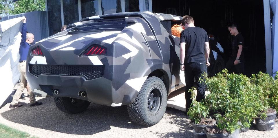 Mystery camo SUV revealed:: It's a Volkswagen Amarok!