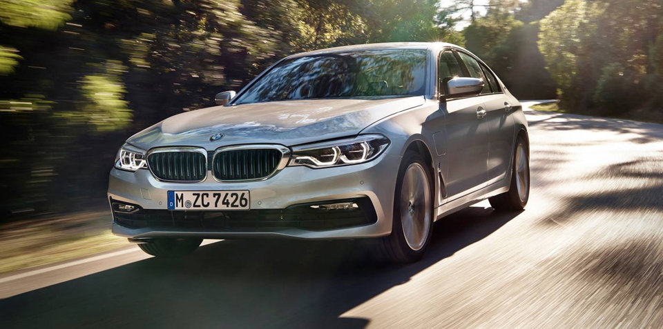2017 BMW 530e iPerformance in Australia from second quarter