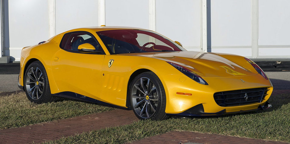 Ferrari SP275 RW Competizione officially detailed with F12 TdF heart