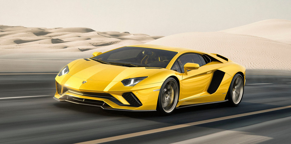 2017 Lamborghini Aventador S revealed, Australian pricing confirmed: Facelifted hero gets more power, four-wheel steering