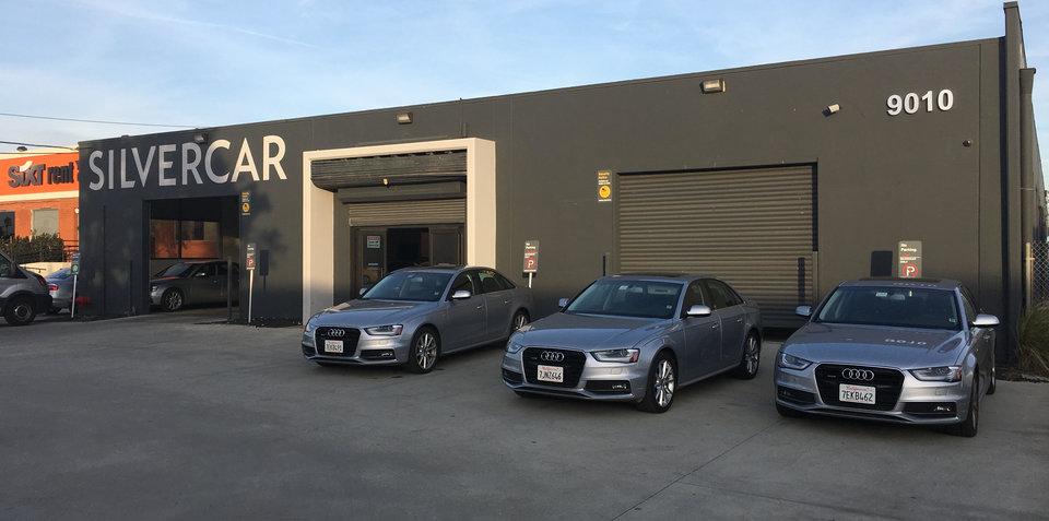 Sampling Silvercar Hire In Los Angeles - Audi silver car