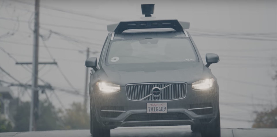 Uber ordered to stop autonomous car tests in California, caught running red light