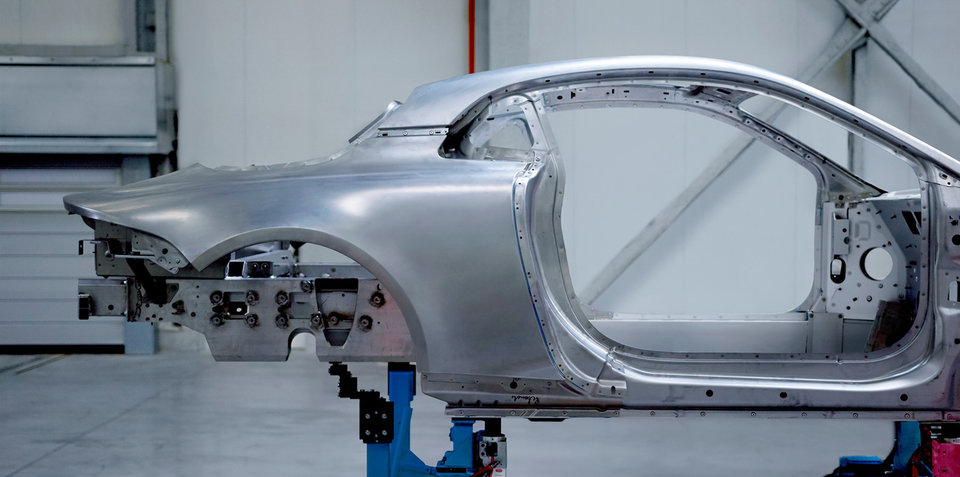 Alpine 'A120' teased with new aluminium chassis