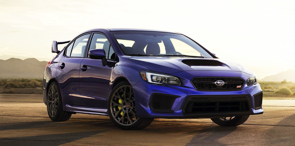 2017 Subaru WRX update revealed in the USA