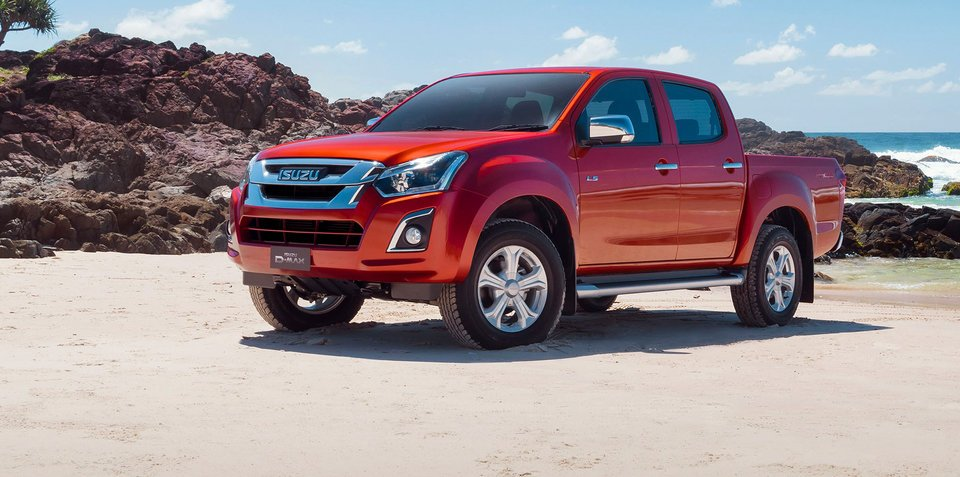 2017 Isuzu D-MAX pricing and specs: Updated engine and more kit