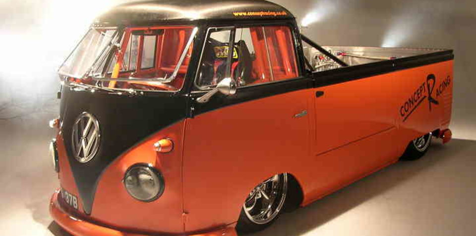 Volkswagen Kombi ute with a mad 250 horsepower!