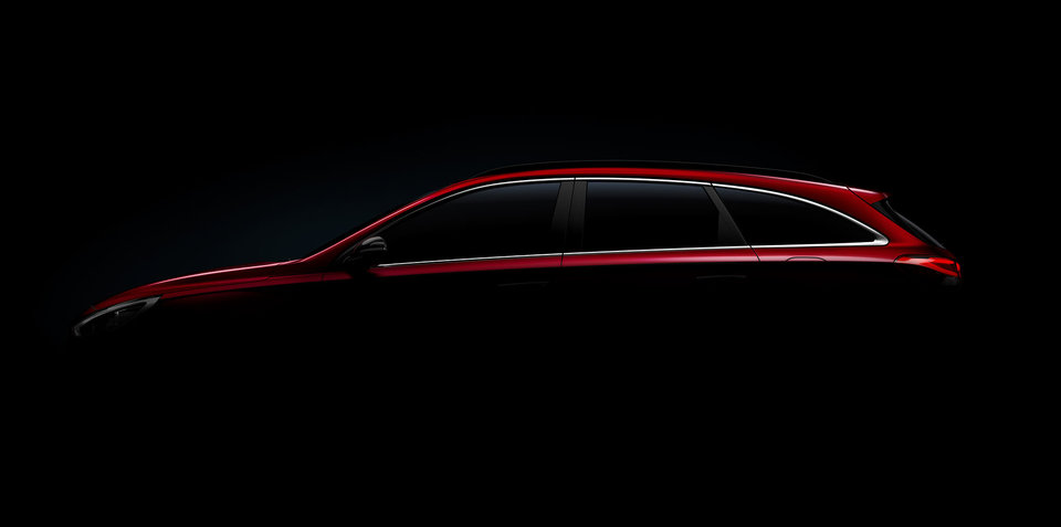 2017 Hyundai i30 wagon teased