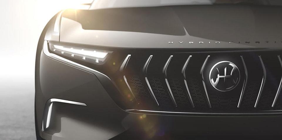 Pininfarina H600 concept teased again before Geneva debut