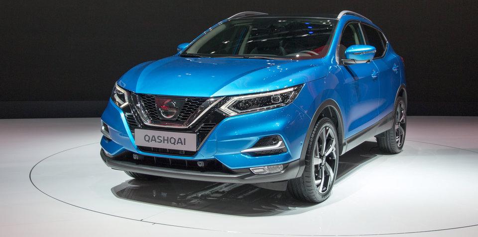 2018 Nissan Qashqai facelift revealed, Australian debut due next year