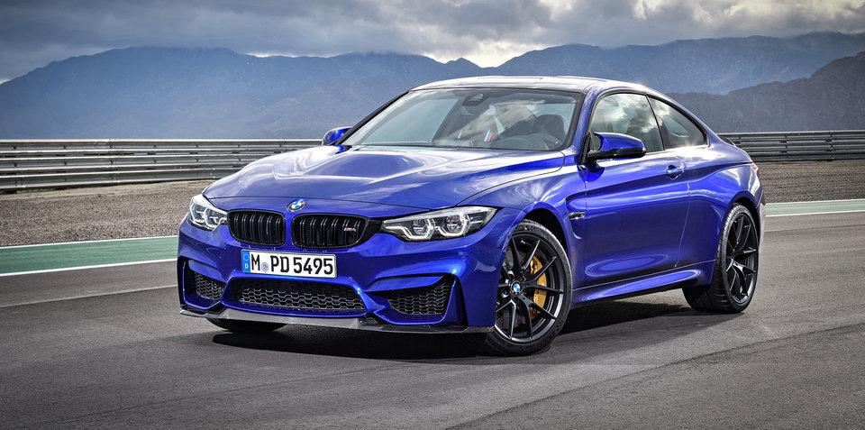 BMW M4 CS revealed: Limited run, Australian allocation confirmed - UPDATE
