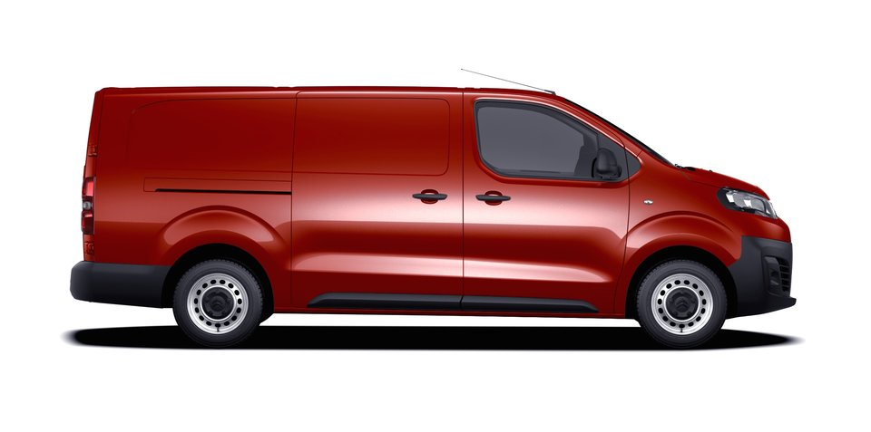 Citroen Dispatch XL unveiled