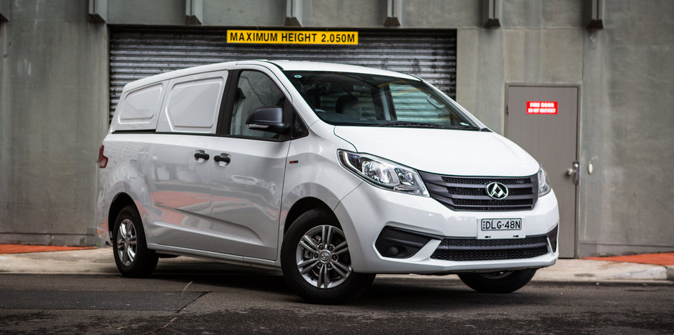 Chinese commercial brand LDV going strong