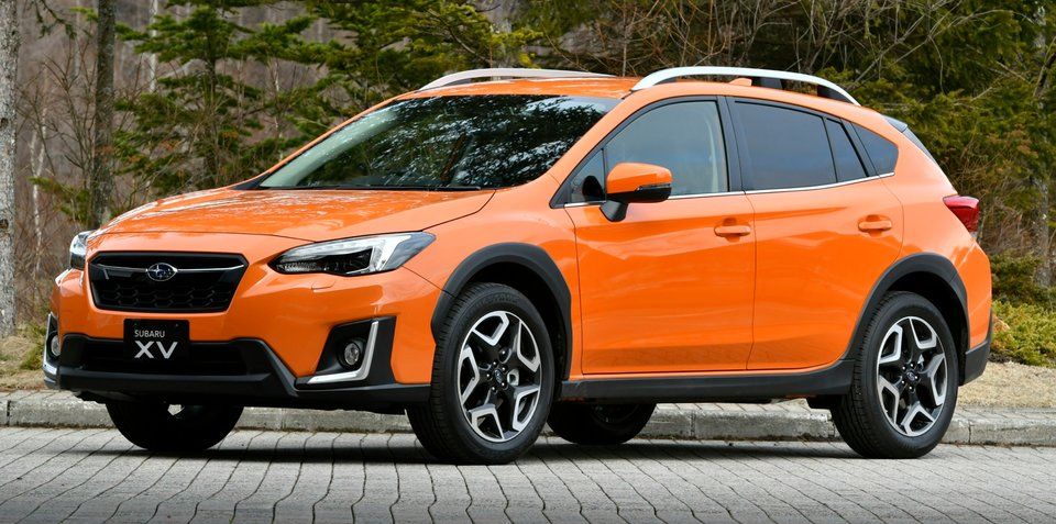 2017 Subaru XV detailed
