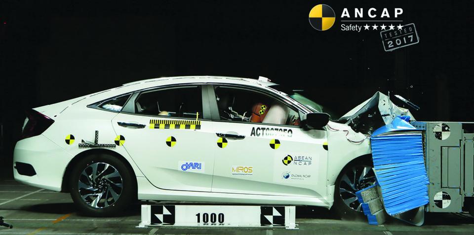 Honda Civic, Hyundai i30 score five-star ANCAP safety ratings