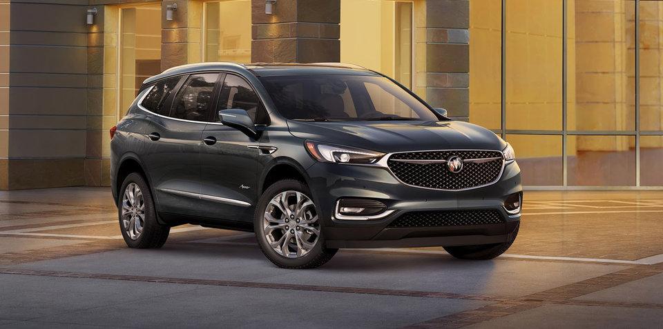 2018 Buick Enclave revealed in New York, Avenir luxury badge debuts