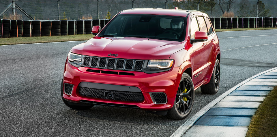 2018 Jeep Grand Cherokee Trackhawk: Circa $140k starting price likely