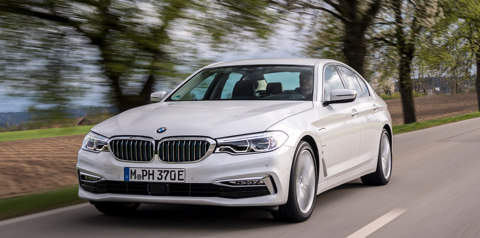 2017 BMW 530e iPerformance pricing and specs: PHEV here in July from $108,900