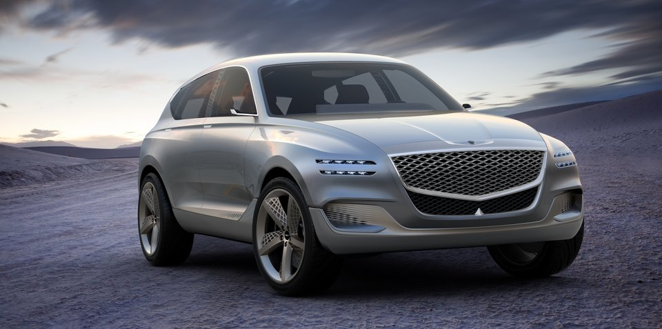 Genesis design heading towards cars that 'won't need headlights anymore'