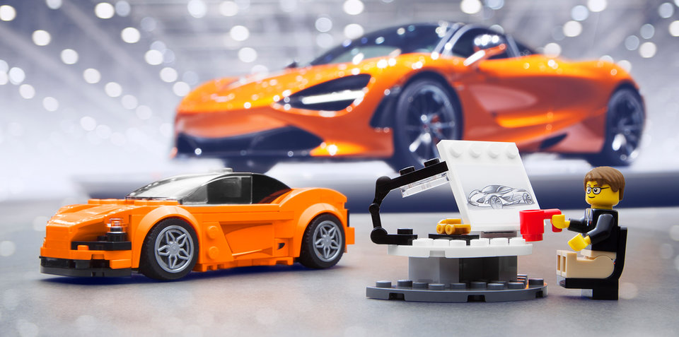 McLaren 720S gets Lego-fied for little car enthusiasts
