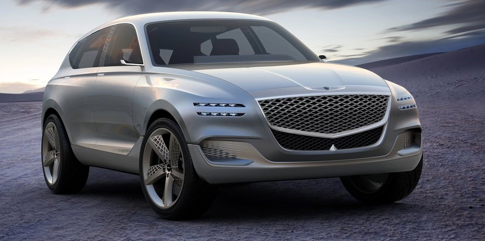 Genesis SUV pair arriving in Australia around 2020, G70 and G80 delayed until early 2018