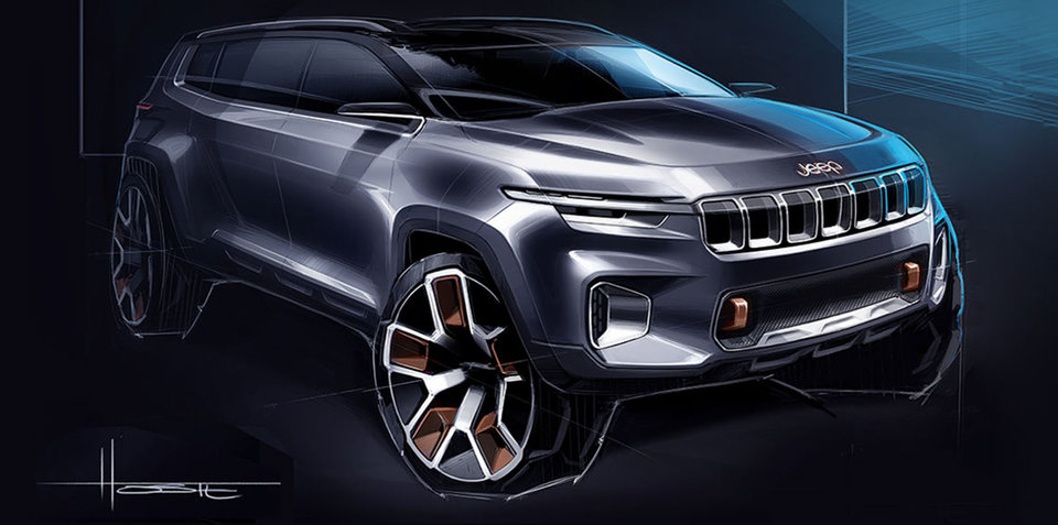 Jeep Yuntu concept: Plug-in hybrid crossover teased