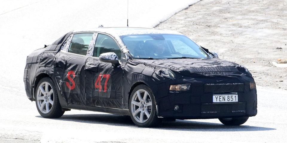 2018 Lynk & Co '02' sedan spied