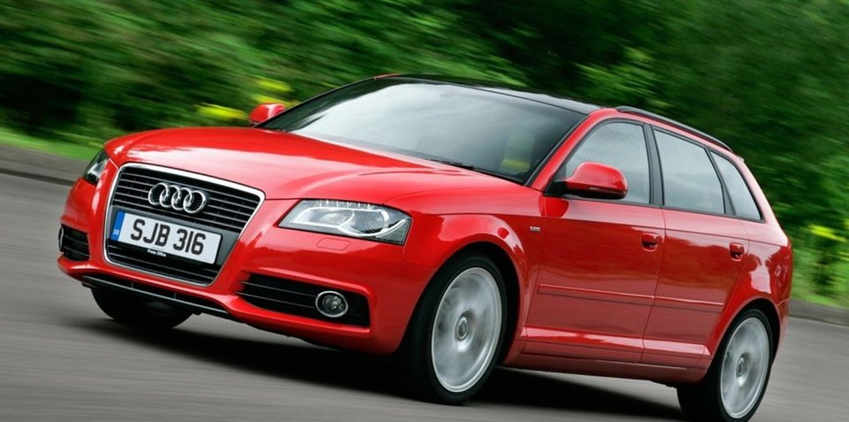 2009 Audi A3 recalled for stability control fix