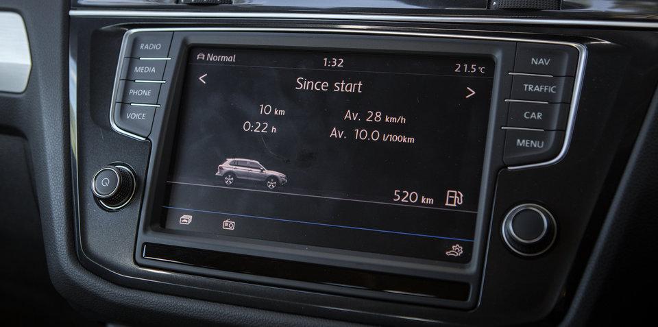 2017 Volkswagen Tiguan 132TSI Comfortline long-term review, report three: infotainment