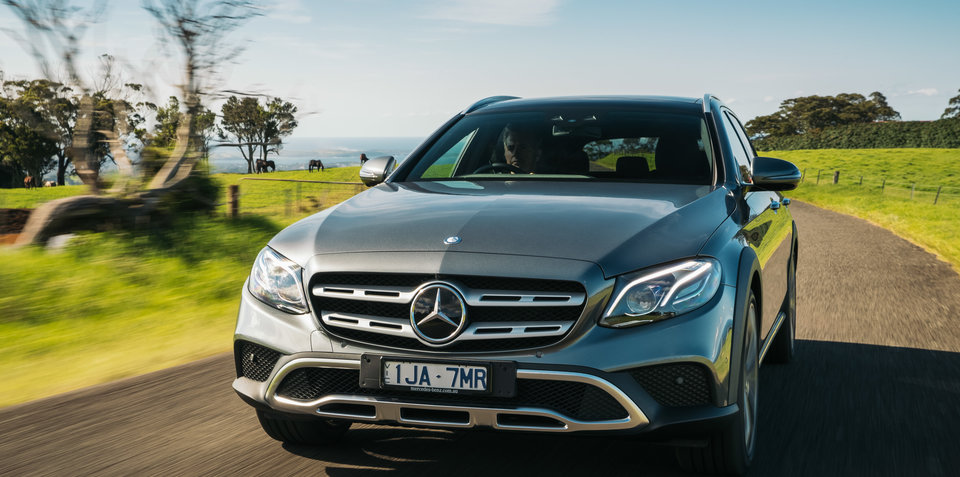 Mercedes-Benz E-Class All-Terrain to get bigger diesel – UPDATE